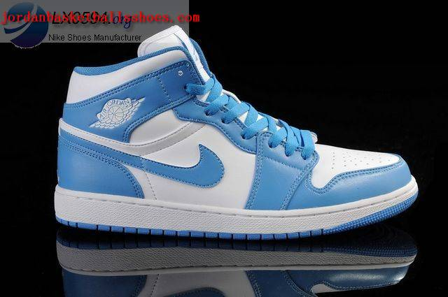 Sale Air Jordans 1 Retro White Blue Shoes On 1TOPJORDAN