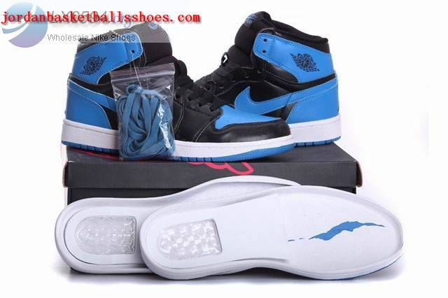 Sale Air Jordans 1 Retro black blue Shoes On 1TOPJORDAN
