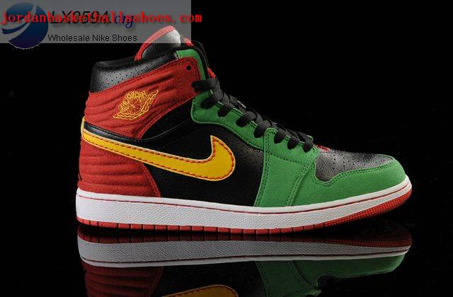 Sale Air Jordans 1 Retro 93 Red black green Shoes On 1TOPJORDAN