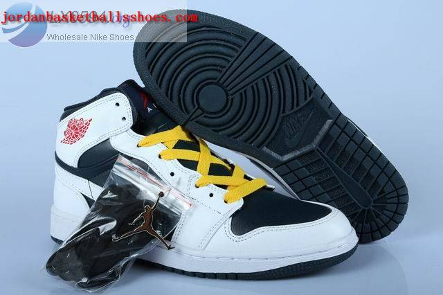 Sale Air Jordans 1 Retro White Black Shoes On 1TOPJORDAN