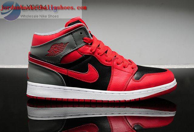 Sale Air Jordans 1 Retro Red Black Grey Shoes On 1TOPJORDAN