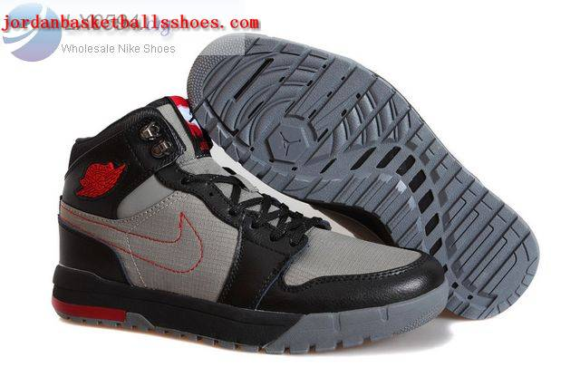 Sale Air Jordans 1 Trek Black Grey Shoes On 1TOPJORDAN