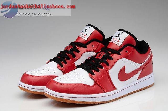Sale Air Jordans 1 Low white red Shoes On 1TOPJORDAN