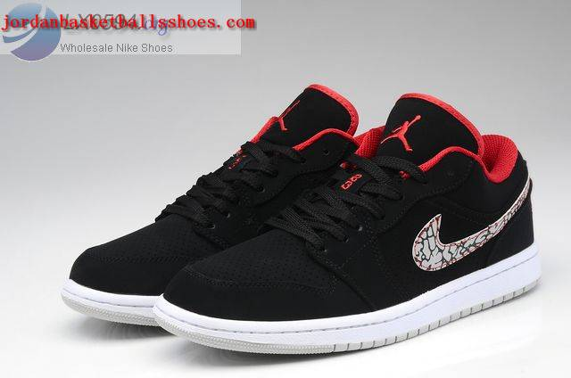 Sale Air Jordans 1 Low black white Shoes On 1TOPJORDAN