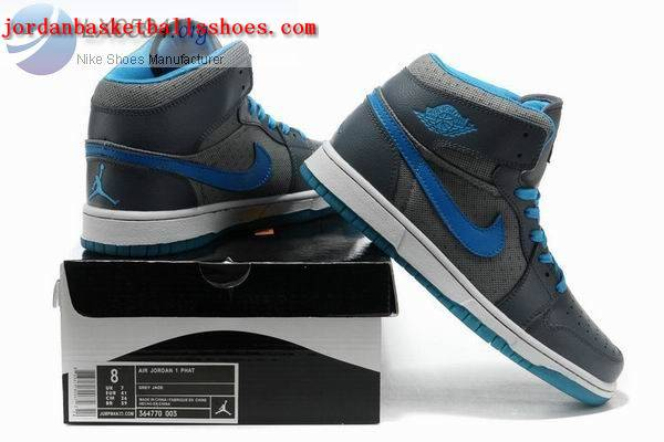 Sale Air Jordans 1 Phat Grey blue white sneakers Shoes On 1TOPJORDAN