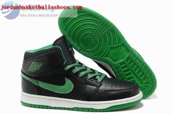 Sale Air Jordans 1 phat black green white Shoes On 1TOPJORDAN