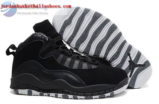 Sale Jordan retro 10 black basketball sneakers Shoes On 1TOPJORDAN