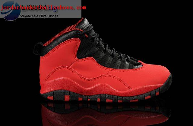 Sale Air Jordans 10 GS Fusion Red Shoes On 1TOPJORDAN