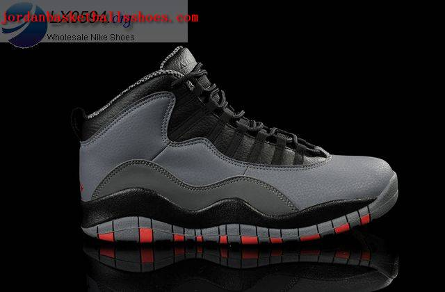 Sale Air Jordans 10 Retro Cool Grey Infrared Black Shoes On 1TOPJORDAN