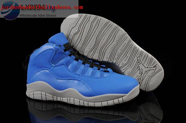 Sale Air Jordans 10 Retro Blue Grey Shoes On 1TOPJORDAN