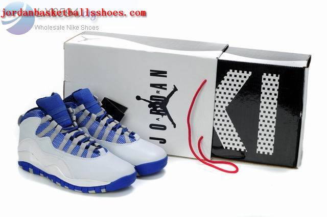 Sale Air Jordans 10 retro white blue sneakers for sale Shoes On 1TOPJORDAN