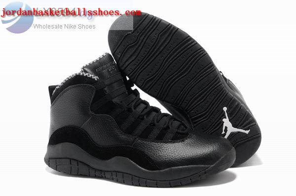 Sale All black Jordan retro 10 Mens sneakers Shoes On 1TOPJORDAN