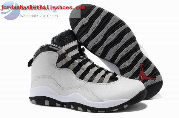 Sale Air Joran 10 retro white black Shoes On 1TOPJORDAN