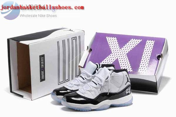 Sale New Air Jordans 11 retro white black sneakers Shoes On 1TOPJORDAN