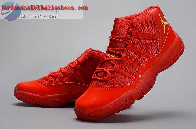 Sale Air Jordans 11 All Red Shoes On 1TOPJORDAN