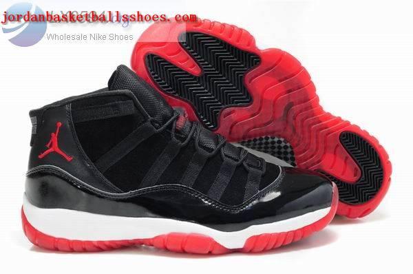 Sale Men's Air Jordans 11 black white red for sale Shoes On 1TOPJORDAN
