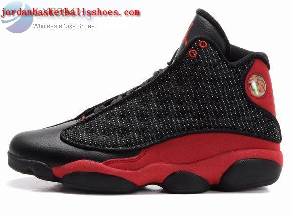 Sale Air Jordans 13 Retro Black Red Shoes On 1TOPJORDAN