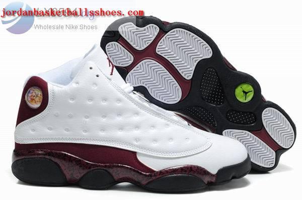Sale Air Jordans 13 Retro white brown black Shoes On 1TOPJORDAN