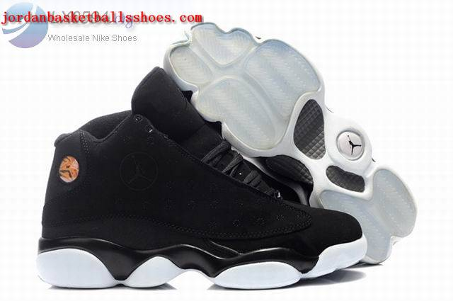 Sale Air Jordans 13 Retro black white Shoes On 1TOPJORDAN