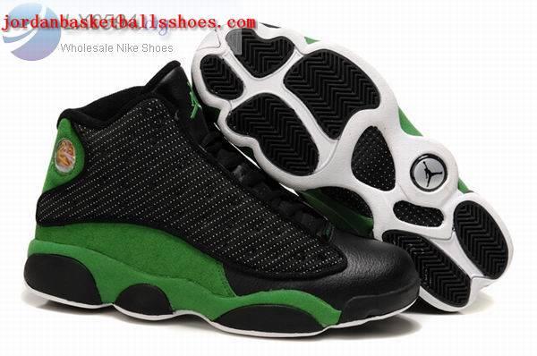 Sale Air Jordans 13 Retro black green Shoes On 1TOPJORDAN