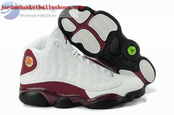 Sale Air Jordans 13 Retro white brown Shoes On 1TOPJORDAN