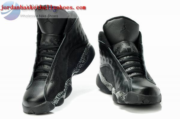 Sale Air Jordans 13 Retro all black Shoes On 1TOPJORDAN