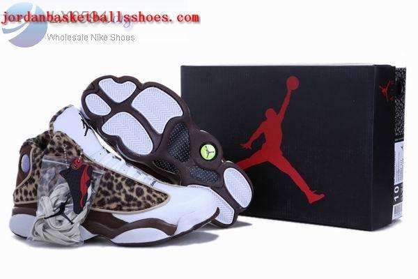 Sale Air Jordans 13 Retro Leopard print chocolate Shoes On 1TOPJORDAN