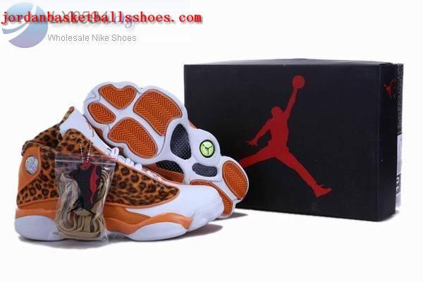 Sale Air Jordans 13 Retro leopard print orange Shoes On 1TOPJORDAN