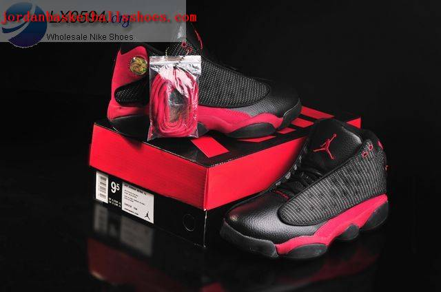 Sale Air Jordans 13 Retro black and red Shoes On 1TOPJORDAN