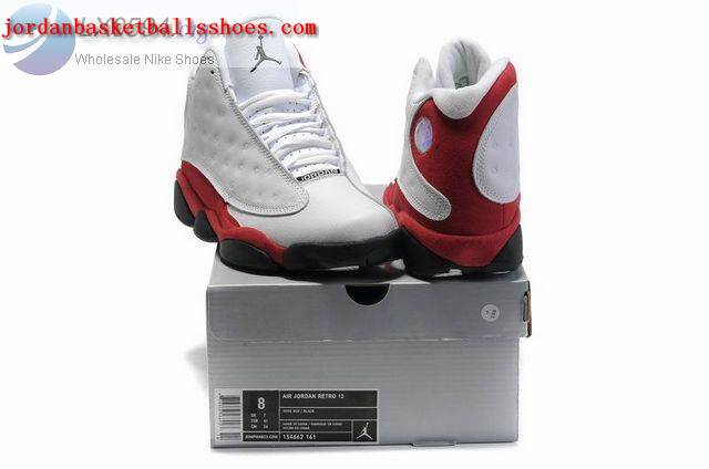 Sale Air Jordans 13 Retro white red black Shoes On 1TOPJORDAN