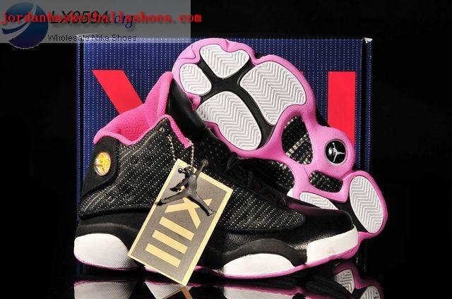 Sale Air Jordans 13 Women black white Shoes On 1TOPJORDAN