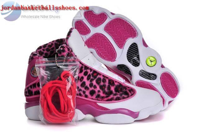 Sale Air Jordans 13 Women Pink Cheetah Print Shoes On ...  Sale Air Jordan...