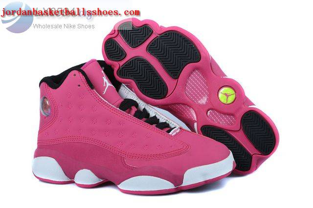 Sale Air Jordans 13 GS Pink Womens Shoes On 1TOPJORDAN
