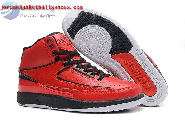 Sale Air Jordans 2 Retro Red black Shoes On 1TOPJORDAN