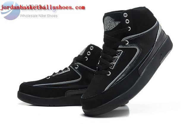 Sale Air Jordans 2 Retro Black Shoes On 1TOPJORDAN