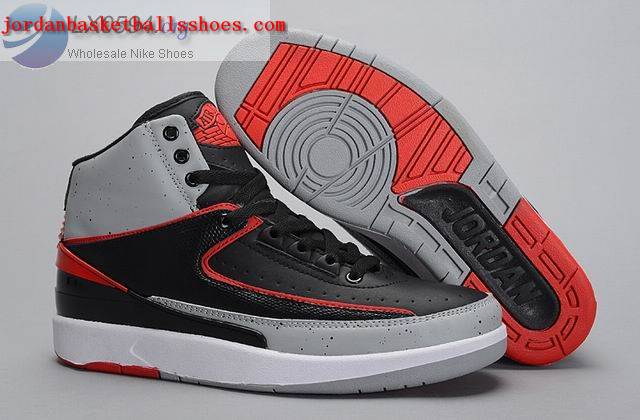 Sale Air Jordans 2 Infrared 23 Black Red Shoes On 1TOPJORDAN