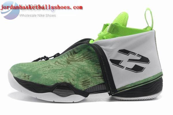Sale Air Jordans 28 retro green black Shoes On 1TOPJORDAN