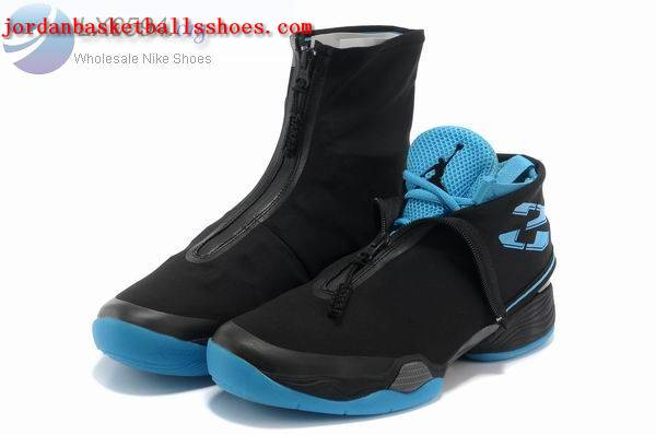 Sale Air Jordans 28 retro black blue Shoes On 1TOPJORDAN
