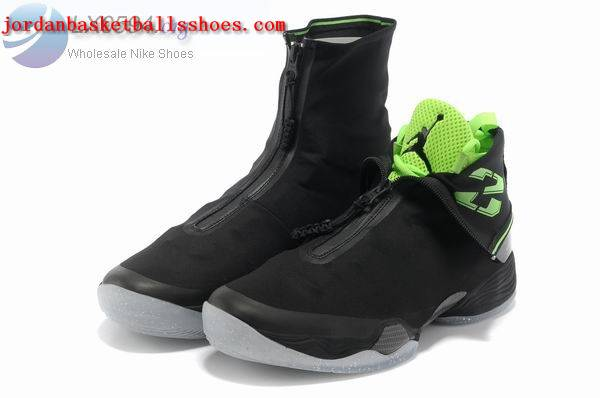 Sale Air Jordans 28 retro black green Shoes On 1TOPJORDAN