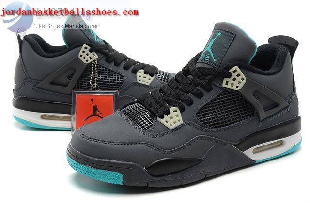 Sale Air Jordans 4 Retro teal grey Shoes On 1TOPJORDAN