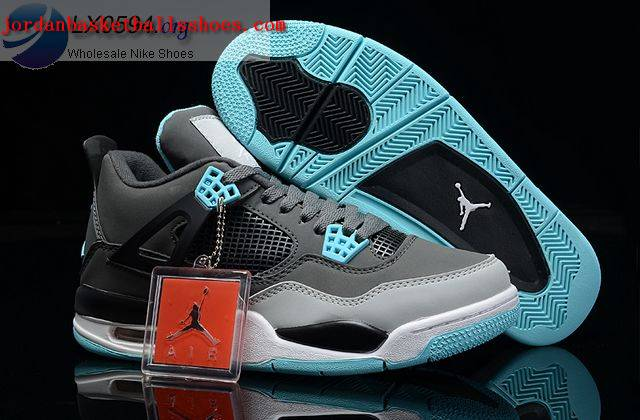 Sale Air Jordans 4 Retro Glow Grey Shoes On 1TOPJORDAN
