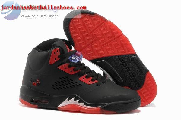Sale Air Jordans 5 Retro black red Shoes On 1TOPJORDAN