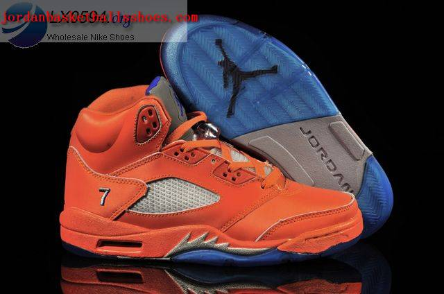Sale Air Jordans 5 Retro Orange Shoes On 1TOPJORDAN