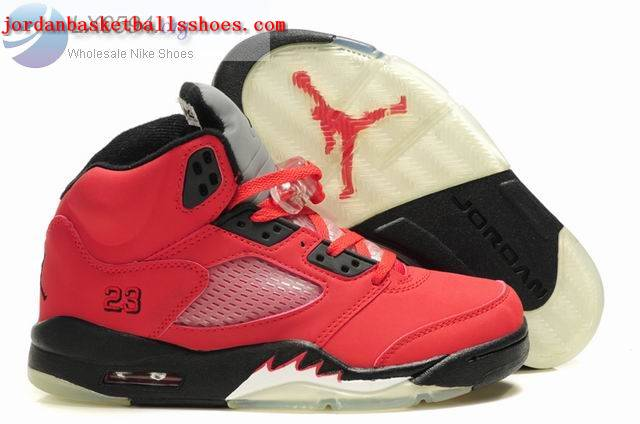 Sale Air Jordans 5 Retro red black Shoes On 1TOPJORDAN