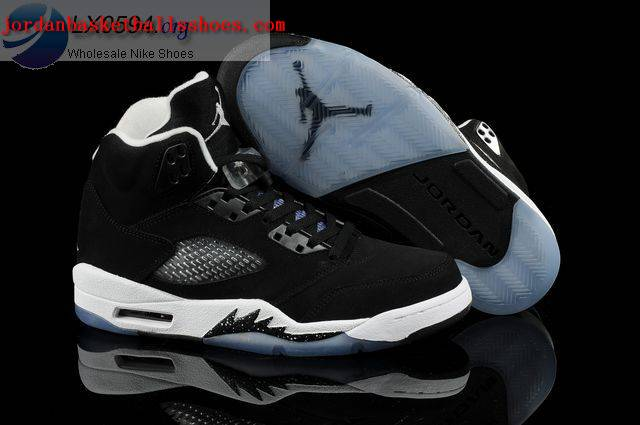 Sale Air Jordans 5 Retro Oreo Black White Shoes On 1TOPJORDAN