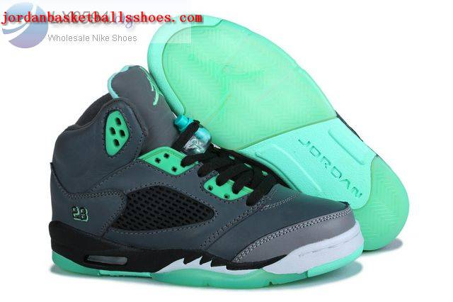 Sale Air Jordans 5 Green Glow Shoes On 1TOPJORDAN