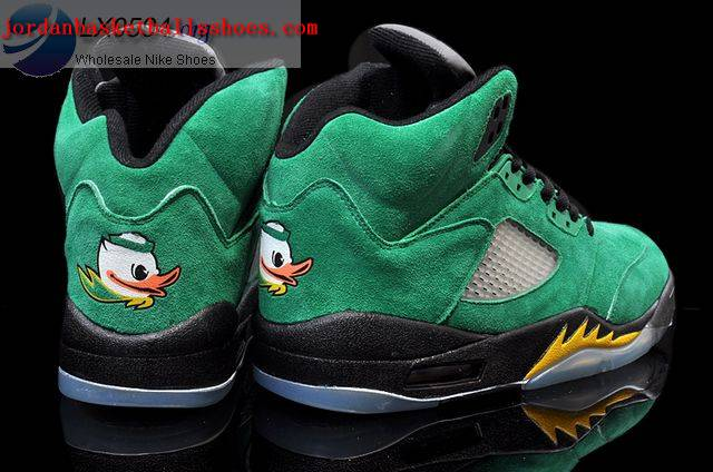 Sale Air Jordans 5 Oregon Ducks Shoes On 1TOPJORDAN