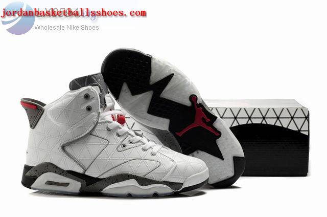 Sale Air Jordans 6 Retro white grey Shoes On 1TOPJORDAN