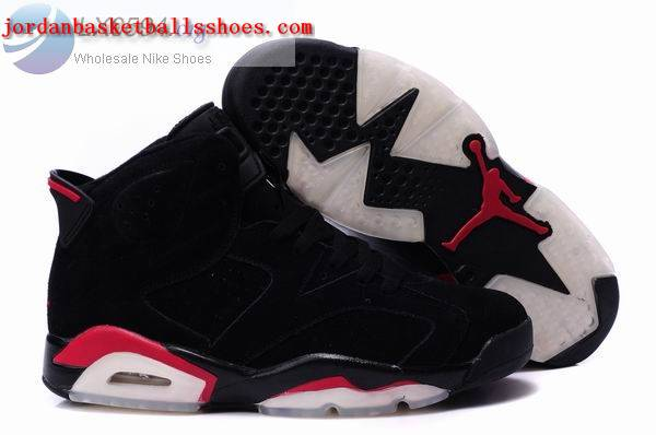 Sale Air Jordans 6 Retro black red Shoes On 1TOPJORDAN