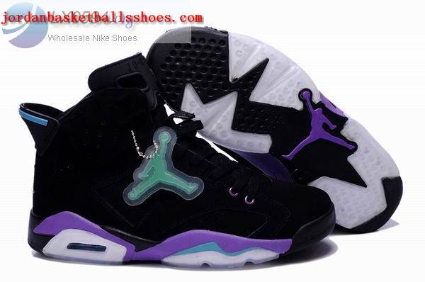 Sale Air Jordans 6 Retro black purple Shoes On 1TOPJORDAN